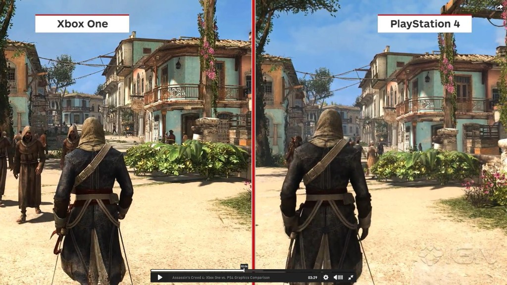 Xbox One vs PlayStation 4 Games